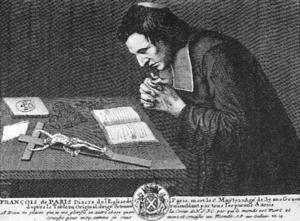 Convulsionnaires of Saint-Médard - François de Pâris at prayer.