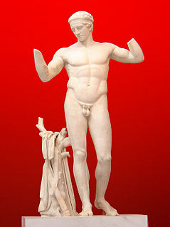 sculpture by Polykleitos the Elder