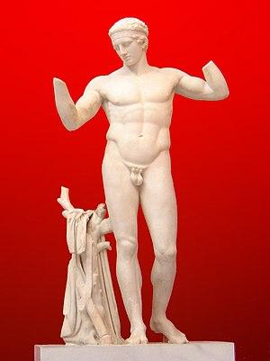 Polykleitos - Image: Diadoumenos Atenas
