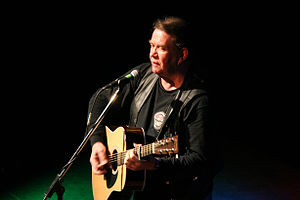 "Dick Gaughan - Gaughan at the ""Rätsche"" in Geislingen an der Steige, Germany, May 2006"