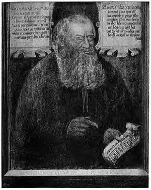 Nikolaus Herman - Die Sonntagsevangelia, title page of his 1560 publication