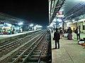 Dinajpur railway station platform at night. (02.03.2019.).jpg