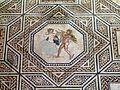 Dionysus mosaic (detail), from around A.D. 220 230, Romisch-Germanisches Museum, Cologne (8115565667).jpg