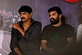 Director Agathiyan and Ameer at Mooch Movie Audio Launch Event.jpg