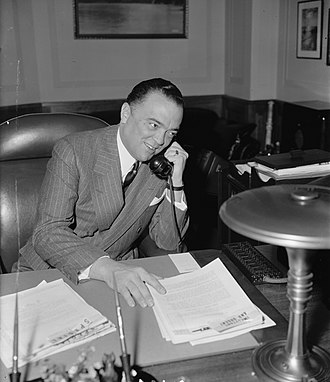 J. Edgar Hoover - Hoover in 1940