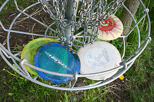 English: A number of assorted discs used in th...