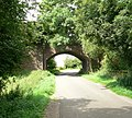 Disused railway bridge - geograph.org.uk - 518717.jpg