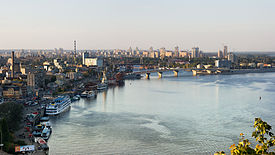 Dniepr river in Kyiv.jpg