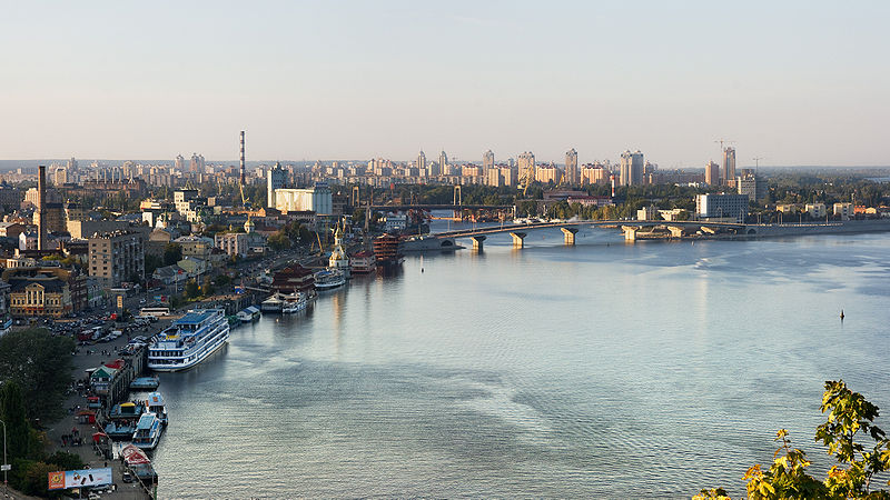 File:Dniepr river in Kyiv.jpg