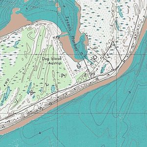 Dog Island (Florida) - USGS Topographic Map