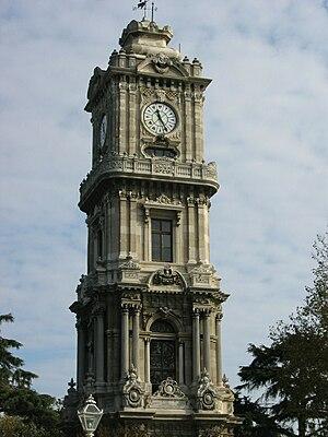 Dolmabahçe Clock Tower - Image: Dolmabahçe Saat Kulesi