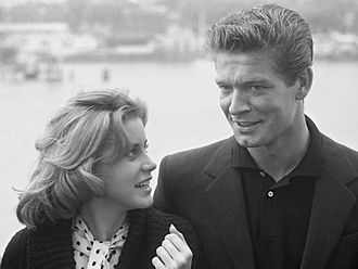 Stephen Boyd - Hart and Boyd in 1961