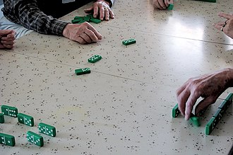 42 (dominoes) - A game of Dominoes