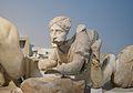 Dona làpita, frontó occidental del temple de Zeus, Olímpia, museu arqueològic.JPG