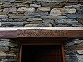 Door lintel of Rifugio Forcola 1838 m.a.s.l. Valchiavenna - (Sondrio) Lombardy - Italy. 12-10-2019.jpg
