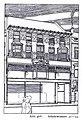 Doppelhaus Schadowstraße 31 bis 33 in Düsseldorf, für die Firma Peek & Cloppenburg im Jahre 1900 durch den Architekten P. P. Fuchs, Seitenansicht.jpg