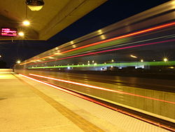 Doraville MARTA station at night.jpg