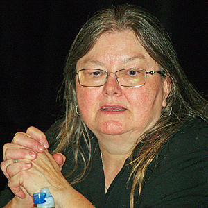 Dorothy Allison - Allison at the 2008 Brooklyn Book Festival.
