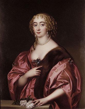 Henry Spencer, 1st Earl of Sunderland - Dorothy Sydney (1617-1684) (Henry Pierce Bone)