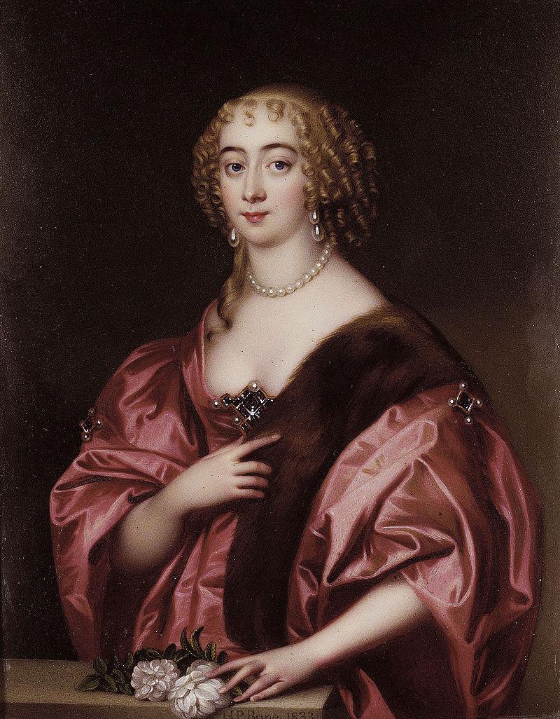 Дороти Сидней, графиня Сандерленд (1617-1684), с картины Генри Пирса Боуна (1779-1855) .jpg