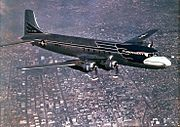 Douglas VC-118 Independence in flight c1947