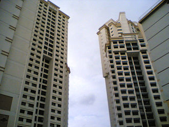Dover, Singapore - A 32-storey high-rise HDB block in Dover Crescent