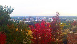 Boise metropolitan area - Downtown Boise in 2013