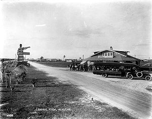 Hialeah, Florida - Downtown Hialeah in 1921