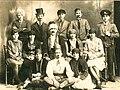 Dramska sekcija Uciteljske skole u Negotinu 1927.jpg