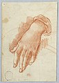 Drawing, Study of the Left Hand of a Woman, 18th century (CH 18120763).jpg