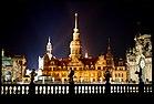 Dresdener Schloss bij nacht.jpg