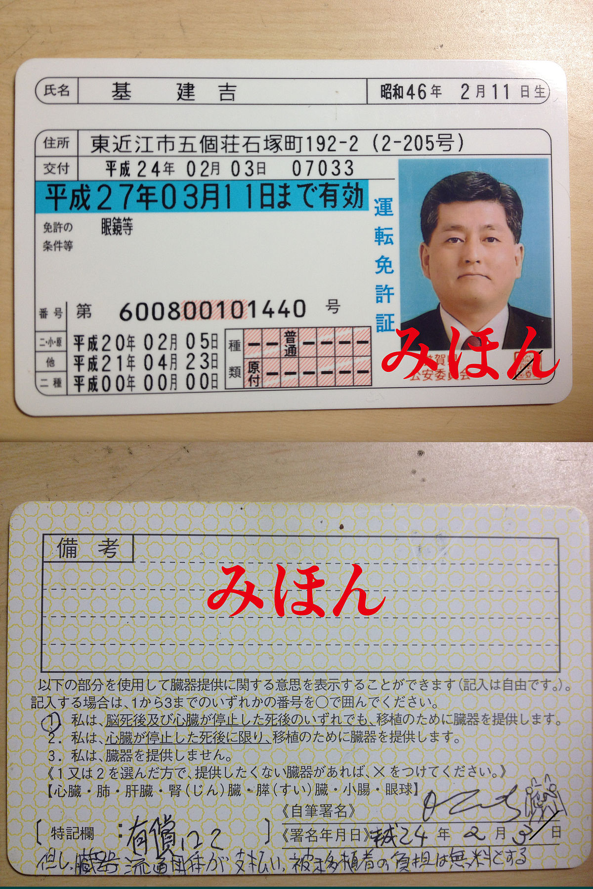 Driving licence in Japan - Wikipedia