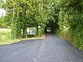 Driveway to caravan site near Wombleton Grange - geograph.org.uk - 220584.jpg
