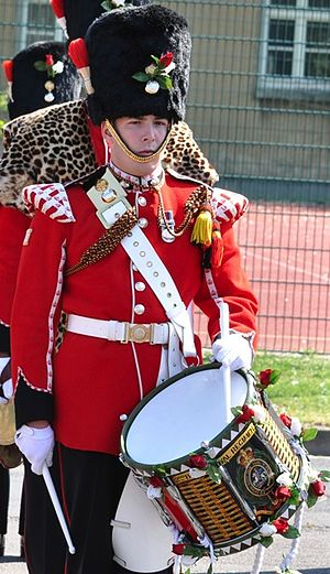 Corps of drums - The late Lee Rigby was a Drummer in the Royal Fusiliers
