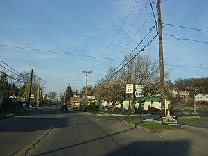 Duboistown, Pennsylvania - Euclid Avenue in Duboistown