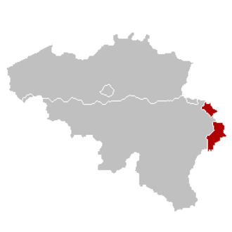 Provinces of Belgium - The German-speaking Community.