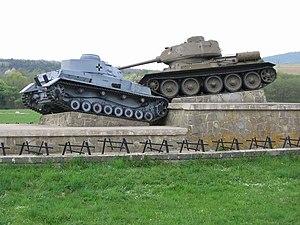 Battle of the Dukla Pass - Dukla Pass battle monument