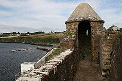 Duncannon Fort watchtower