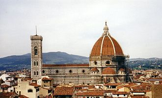 Civilization IV: Beyond the Sword - The title screen depicts the Santa Maria del Fiore of Florence, but it is not visible in the game.
