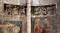 Duomo di trento, interno, frammenti romanici del martirio forse di san giovanni evangelista.jpg
