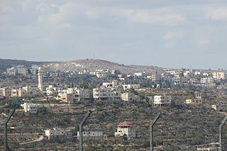 Beit Anan Municipality type C in Jerusalem, State of Palestine