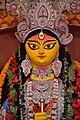Durga Face - Biswamilani Club - Padmapukur Water Treatment Plant Road - Howrah 2015-10-20 6047.JPG