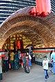 Durga Puja Pandal Interior - Chetla Agrani Club - Kolkata 2017-09-26 4229.JPG