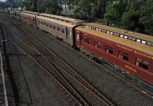 Victorian Railways E type carriage