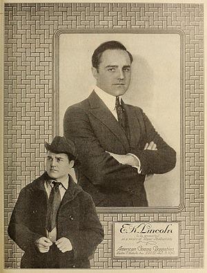 E.K. Lincoln - E.K. Lincoln in 1919