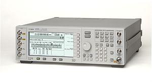 Signal generator - A vector signal generator