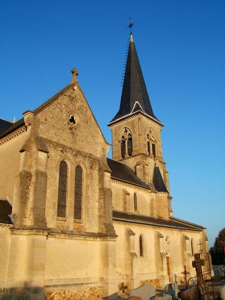 Église Saint-Martin d'Aigny (Marne)