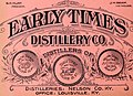 EARLY TIMES DISTILLERY CO, - Pacific wine and spirit review (1894) (14781695394) (cropped).jpg
