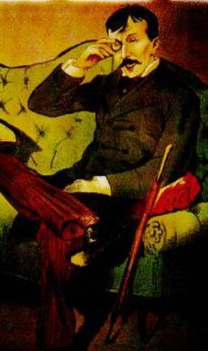 Rafael Bordalo Pinheiro - Bordalo Pinheiro caricature of Eça de Queiroz