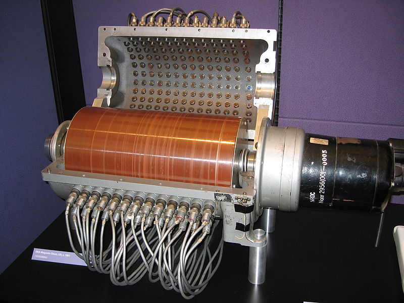ERA Magnetic Drum, US, c. 1951 - Computer History Museum - Mountain View, California